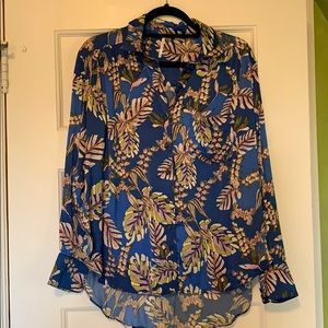 NWT free people silk blouse